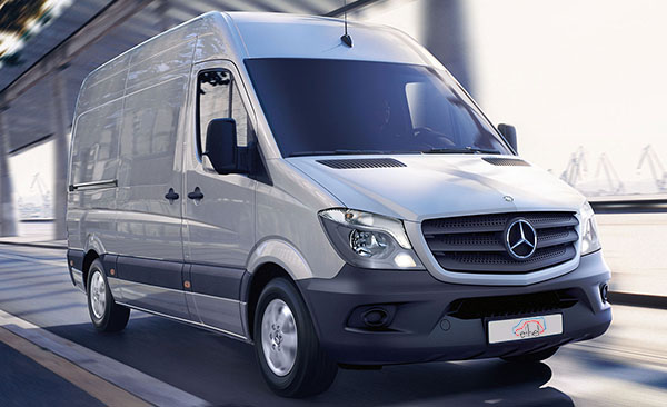 mercedes sprinter van for hire van hire oswestry by ethel s. Black Bedroom Furniture Sets. Home Design Ideas